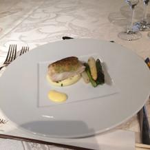 鯛と季節野菜