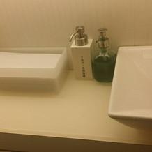お手洗いです。