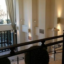 階段がフォトジェニックです。