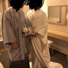 白無垢、袴