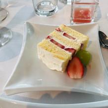 ゲスト用ウエディングケーキ