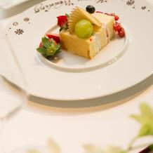 新郎用ウエディングケーキ
