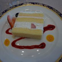 ケーキも美味しい!