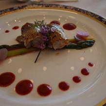 小鯛のロースト香辛料のマリアージュ