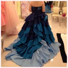 一番最初に選んで着たドレス