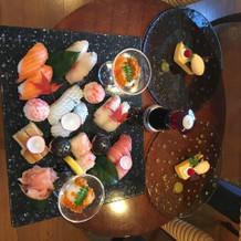 寿司ブュッフェ