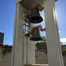鐘を鳴らす演出