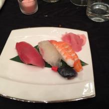 お寿司です