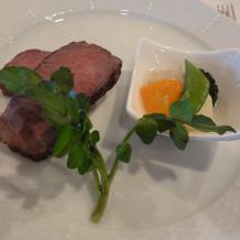 牛フィレ肉と特選ロース肉のロースト