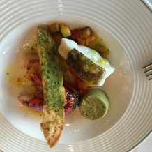 試食4 海老と魚料理