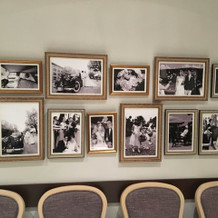 元金庫室には昔の横浜の写真