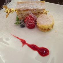 デザート 武蔵丘のノジのケーキ