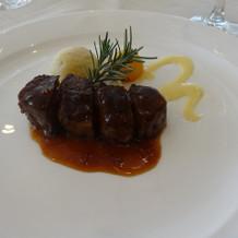フィレ肉ステーキ