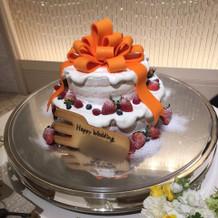 オリジナルケーキ♪