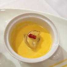 ほたての魚介スープ