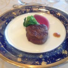 メイン 牛フィレ肉