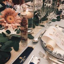 大人でおしゃれな夜♪の晩餐テーブル