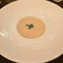 かぶらのスープ。