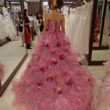 薔薇ドレス