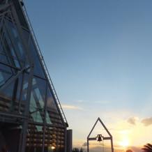 12月、15:30頃の空の色です