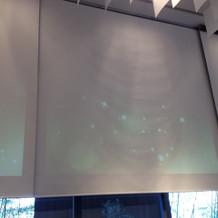 スクリーンが大きいです
