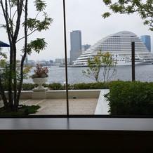 レストランから見える景色