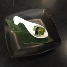 菜の花のお寿司