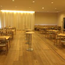 1番大きい会場の待合室。