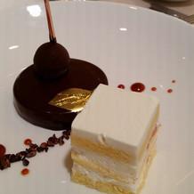 チョコレートケーキ、美味しかった~~~