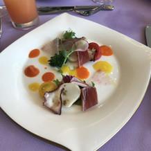 お魚もソースもとても美味しかったです。