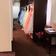 すごく可愛いドレスがいっぱいでした