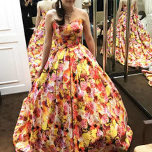蜷川実花のデザインしたドレス