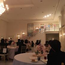 ホワイトハウス披露宴会場(当日)