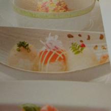 試食した手毬寿司です