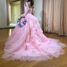 運命のドレス(カラードレス)