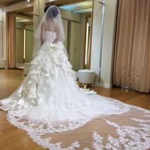 運命のドレス(ウェディングドレス)