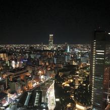夜景がとても綺麗