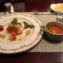 オマール海老の試食会
