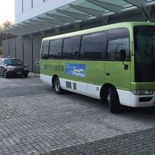 ホテルからのシャトルバス