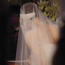 マリアベールがとても綺麗でした