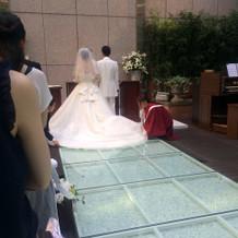 あっと言う間に終わってしまった模擬結婚式