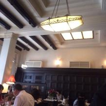 一階レストラン内