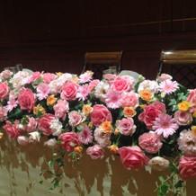 高砂の装花