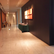 神殿から写真室までの廊下