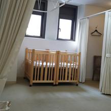 授乳用のベッド(2台のみ)