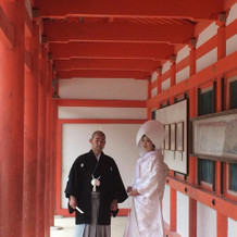 下鴨神社にて挙式 白無垢