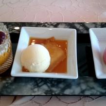 デザート3種
