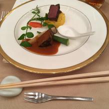 和牛フィレ肉のステーキ