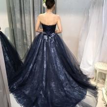 本番で使用したドレスです