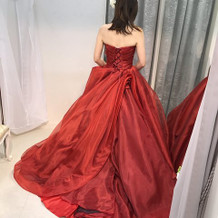 着なかったカラードレス